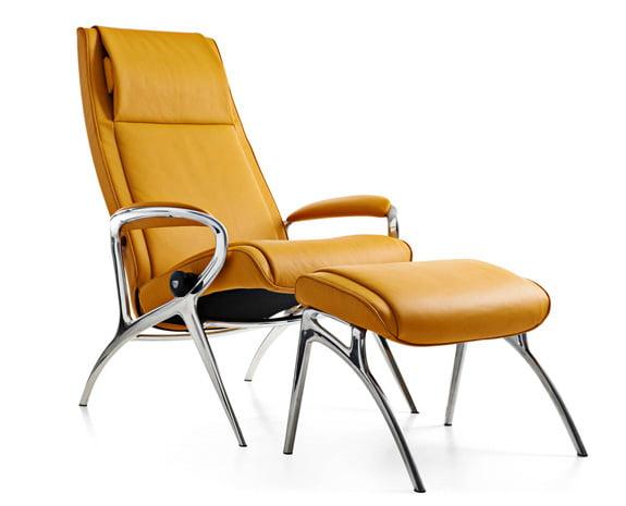 stressless you james aluminum - Stressless Chair